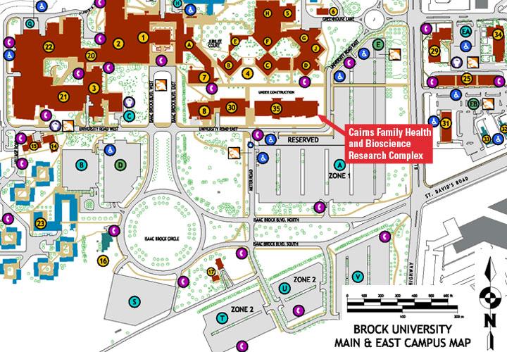 McMaster Niagara Regional Campus Map and Directions