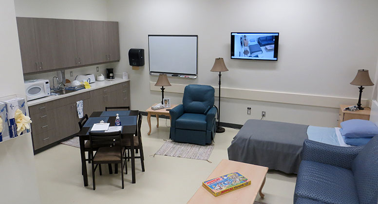 Home environment room in CSBL-1G